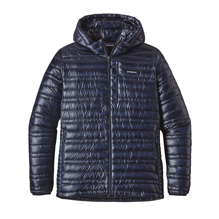 M'S ULTRALIGHT DOWN HOODY, Navy Blue (NVYB)
