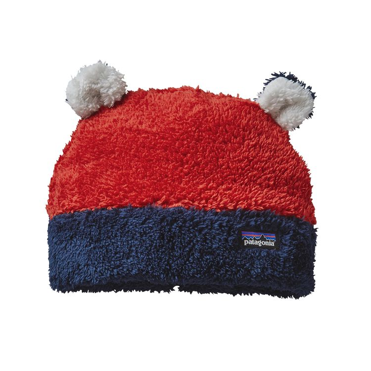 BABY FURRY FRIENDS HAT, Ramble Red (RMBR)