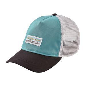 W's Pastel P-6 Label Layback Trucker Hat, Crevasse Blue (CVSB)