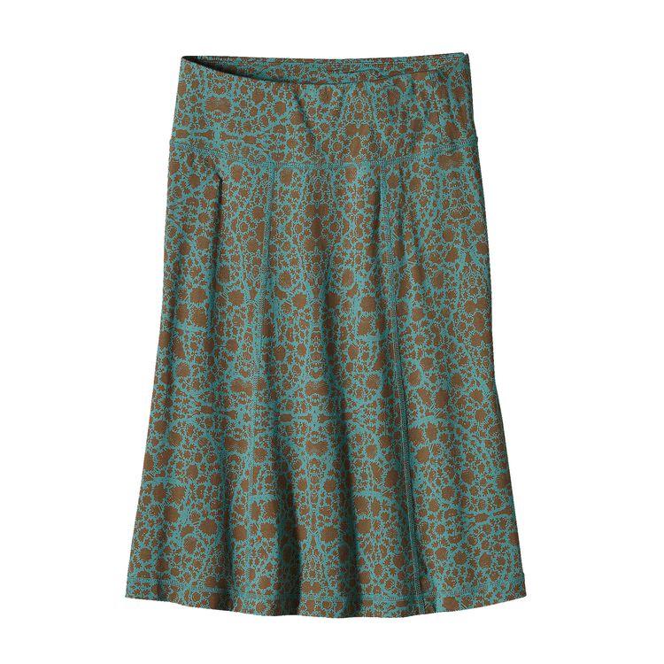 ウィメンズ・カマラ・フェスティバル・スカート, Paisley Sage: Beryl Green (PYBG)