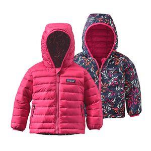 Baby Reversible Down Sweater Hoody, Magic Pink (MAGP)
