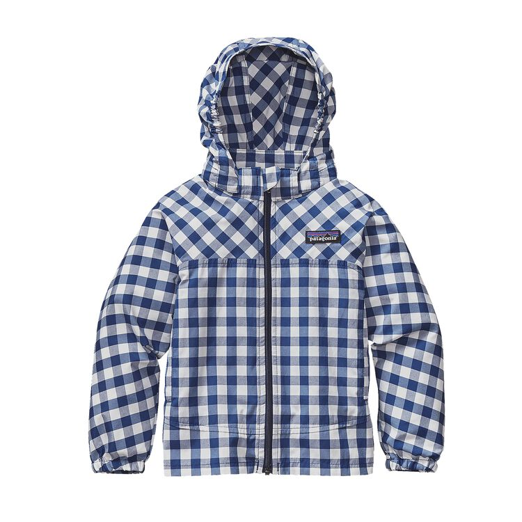 BABY HIGH SUN JKT, Gingham: Channel Blue (GHCB)