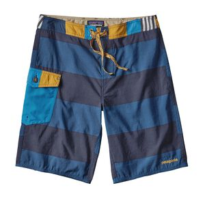 "M's Patch Pocket Wavefarer™ Board Shorts - 20"", Da Bull Big: Big Sur Blue (DABS)"