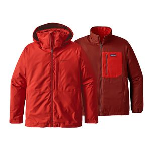 M's 3-in-1 Snowshot Jacket, Ramble Red (RMBR)