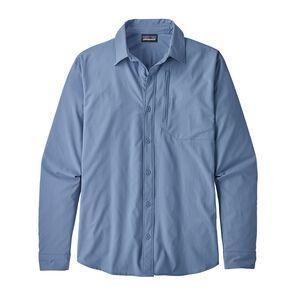 M's Long-Sleeved Skiddore Shirt, Railroad Blue (RBE)