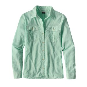 W's Lightweight A/C Buttondown Shirt, Sprinkle: Galah Green (SPKG)