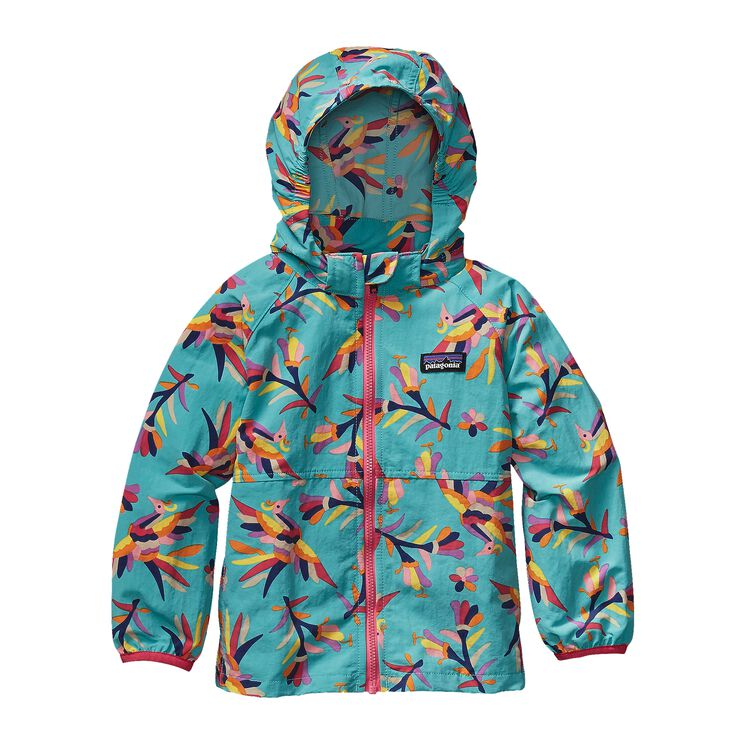 BABY BAGGIES JKT, Folk Tails: Howling Turquoise (FHTQ)