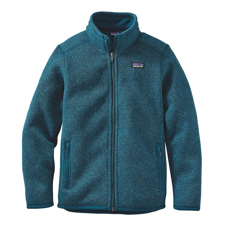 BOYS' BETTER SWEATER JKT, Deep Sea Blue (DSE)