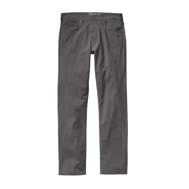 M'S STRAIGHT FIT ALL-WEAR JEANS - SHORT, Forge Grey (FGE)