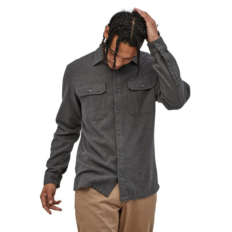 M's Long-Sleeved Fjord Flannel Shirt,