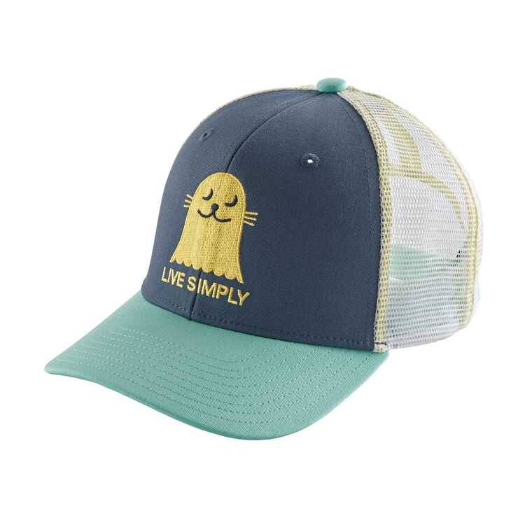K'S TRUCKER HAT, Live Simply Seal: Dolomite Blue (LSDO)