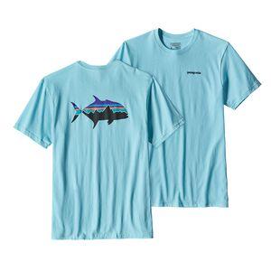 メンズ・フィッツロイ・トレバリー・コットン・Tシャツ, Cuban Blue (CUBB)