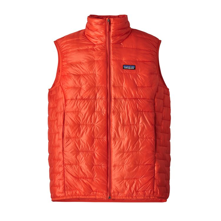 M'S MICRO PUFF VEST, Paintbrush Red (PBH)
