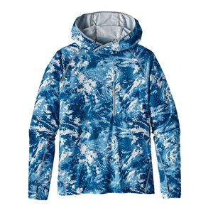 M'S SUNSHADE TECHNICAL HOODY, Storm Front: Big Sur Blue (SFBS)