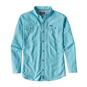 M's Long-Sleeved Sol Patrol™ II Shirt, Cuban Blue (CUBB)