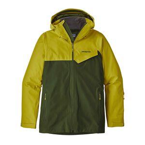 M's Powder Bowl Jacket, Fluid Green (FLGR)
