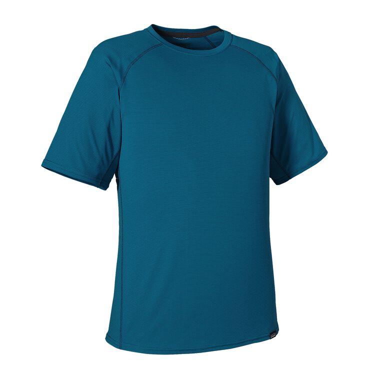 M'S CAP LW T-SHIRT, Underwater Blue (UWTB)