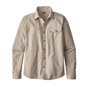 M's Long-Sleeved Clean Color Shirt, Clean Pomegranate Grey (CPNG)