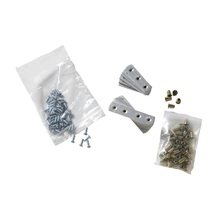 ALUMINUM BAR REPLACEMENT KIT, Silver (SIL-775)