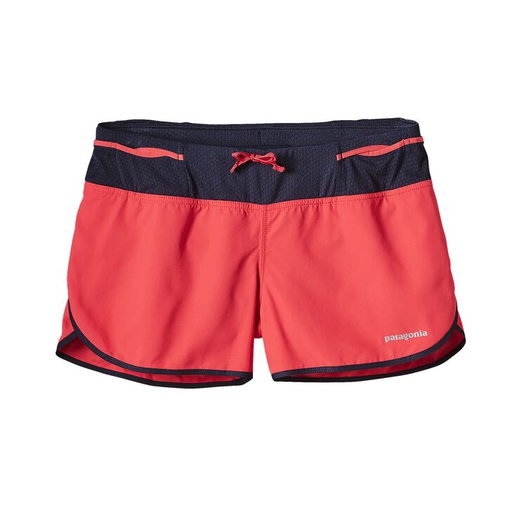 W'S STRIDER PRO SHORTS - 3 IN., Shock Pink (SHKP)