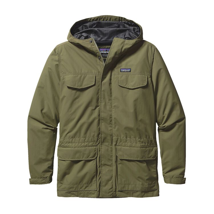 M'S BAGGIES PARKA, Spanish Moss (SNM)