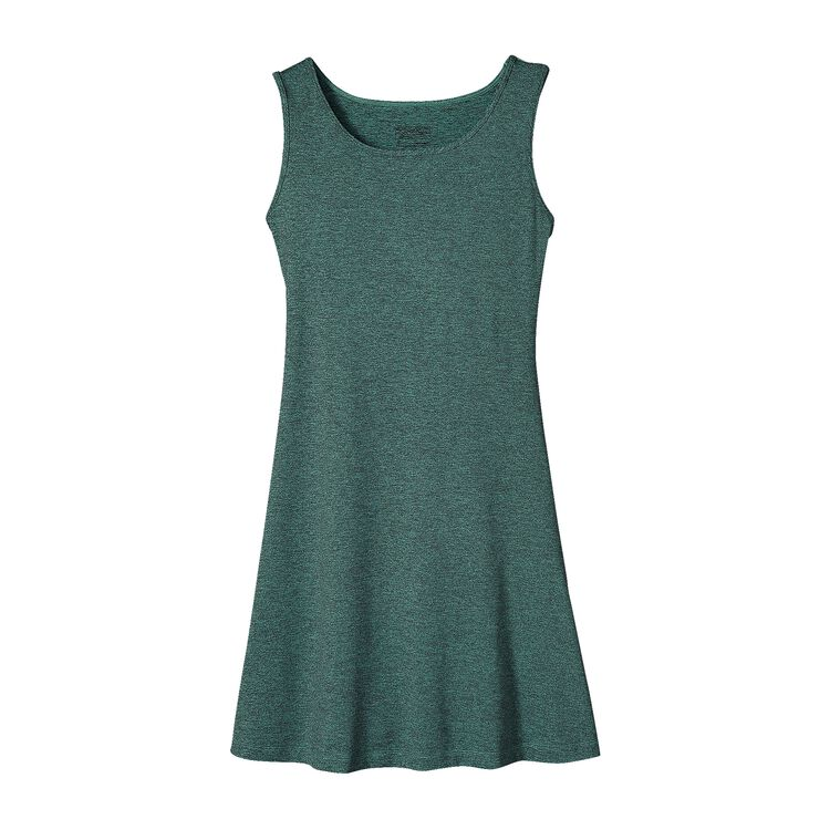 W'S SLEEVELESS SEABROOK DRESS, Howling Turquoise (HWLT)