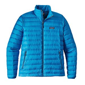 M's Down Sweater, Andes Blue w/Big Sur Blue (ABSB)