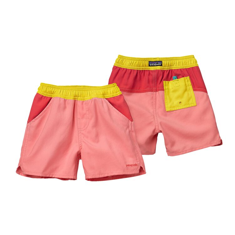 BABY FORRIES SHOREY BOARD SHORTS, Pickled Pink (PCKP)