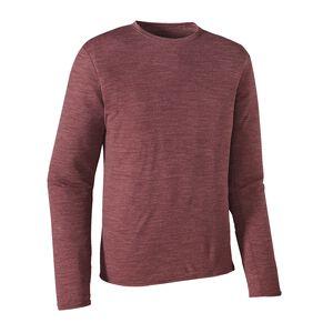 メンズ・ロングスリーブ・メリノ・デイリー・Tシャツ, Oxblood Red (OXRD)