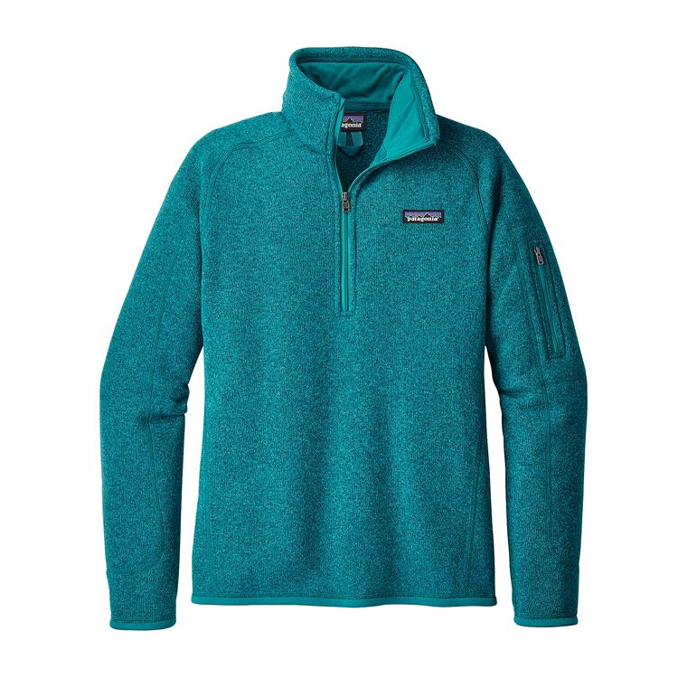 W'S BETTER SWEATER 1/4 ZIP, Elwha Blue (ELWB)
