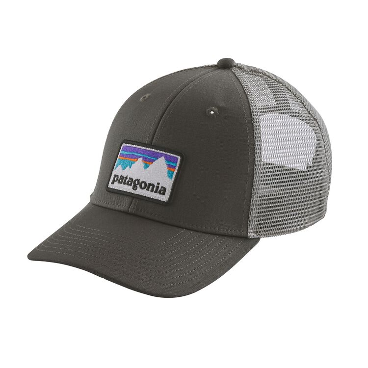 SHOP STICKER PATCH LOPRO TRUCKER HAT, Forge Grey (FGE)
