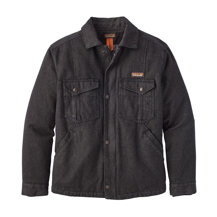 M'S IRON FORGE HEMP CANVAS RANCH JKT, Ink Black (INBK)