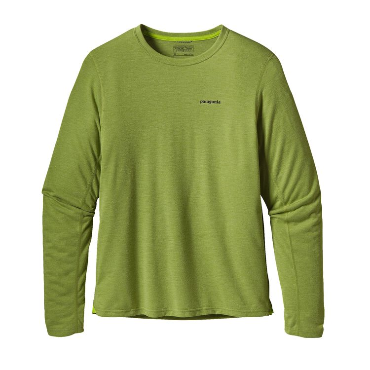 M'S L/S NINE TRAILS SHIRT, Supply Green (SPYG)
