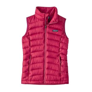 Girls' Down Sweater Vest, Craft Pink (CFTP)