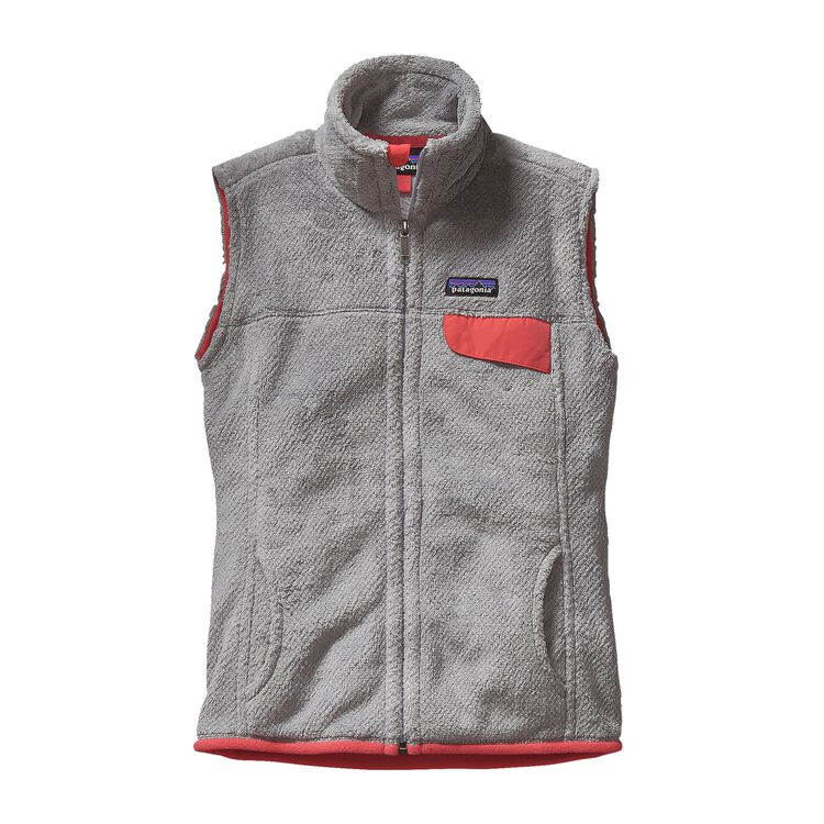 W'S RE-TOOL VEST, Tailored Grey - Nickel X-Dye w/Shock Pink (TGXP)