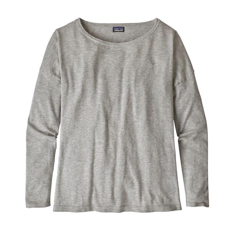 W'S LOW TIDE SWEATER, Tailored Grey (TGY)