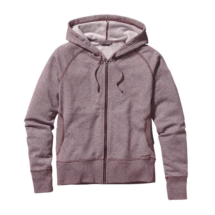 W'S CLOUD STACK HOODY, Oxblood Red (OXRD)