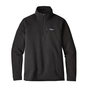 M'S PERFORMANCE BETTER SWEATER 1/4 ZIP, Black (BLK)