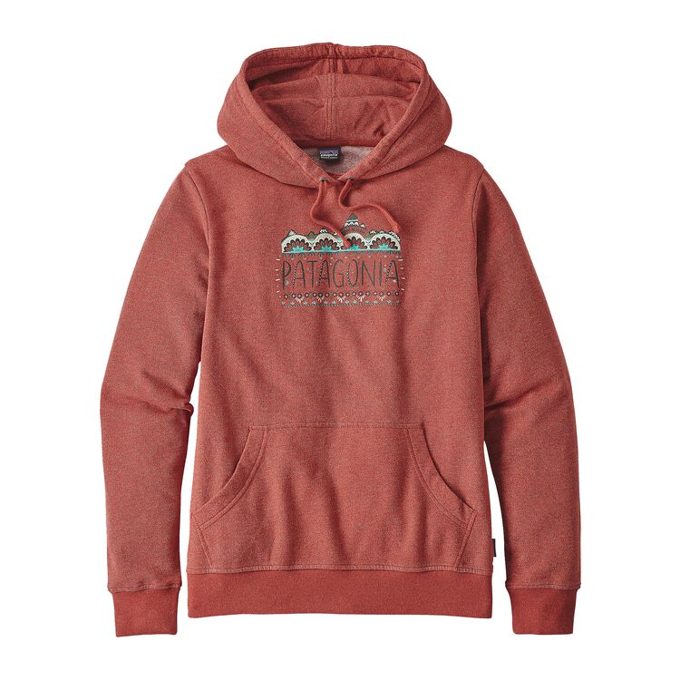 W'S FEMME FITZ ROY LW HOODY, Roots Red (RTSR)