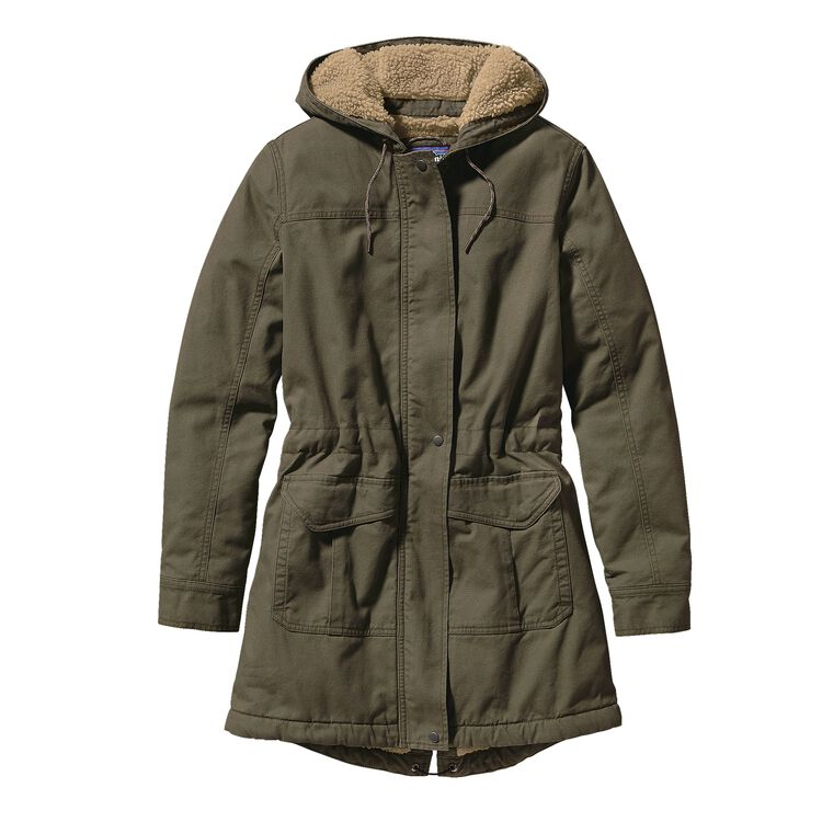 W'S INSULATED PRAIRIE DAWN PARKA, Industrial Green (INDG)