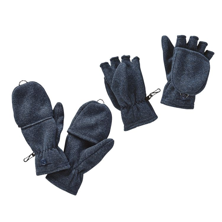 W'S BETTER SWEATER GLOVES, Classic Navy (CNY)
