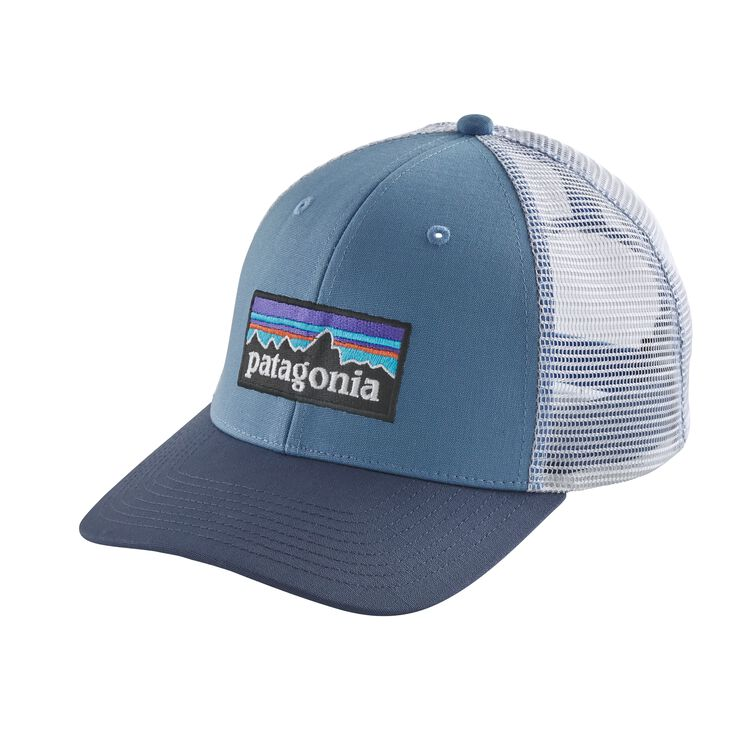 P-6 LOGO TRUCKER HAT, Railroad Blue (RBE)