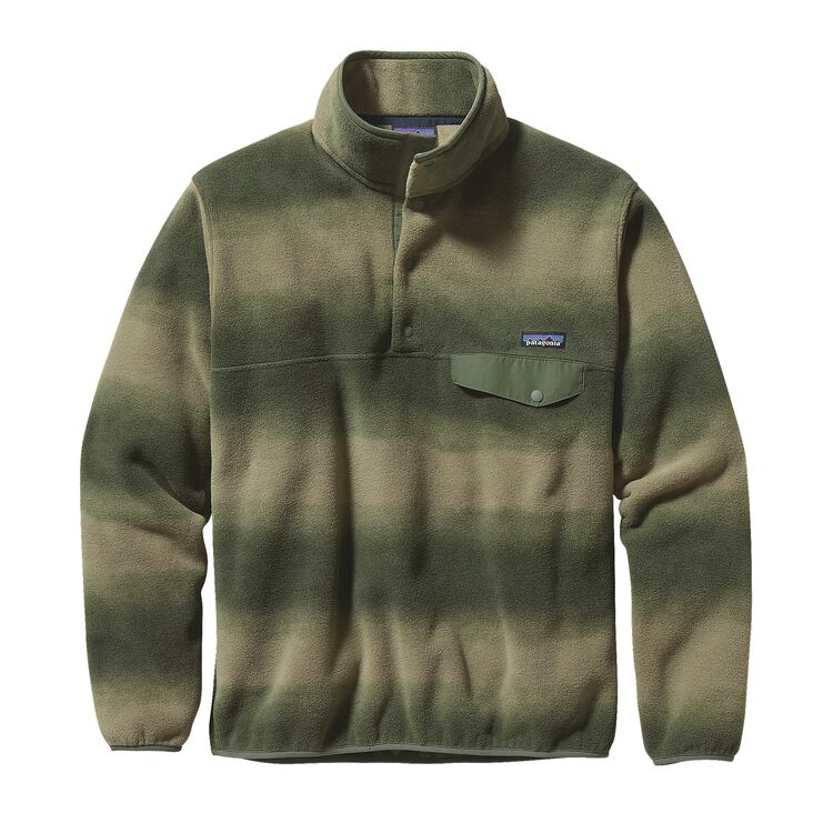 M'S LW SYNCH SNAP-T P/O, Hand Dipped: Camp Green (HACG)