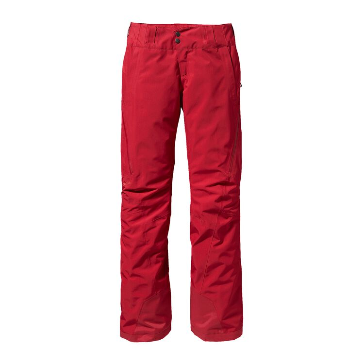 W'S SLIM INSULATED POWDER BOWL PANTS, Classic Red (CSRD)