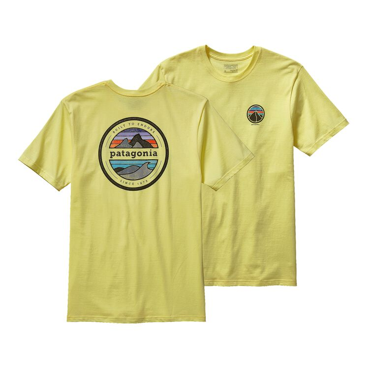 M'S RIVET LOGO COTTON T-SHIRT, Lite Blazing Yellow (LBZY)