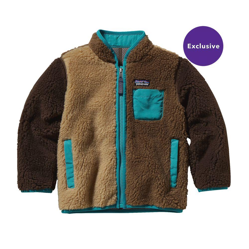 photo: Patagonia Kids' Retro-X Jacket fleece jacket