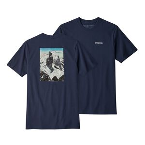 M'S GLACIER VIEW RISING RESPONSIBILI-TEE, Classic Navy (CNY)