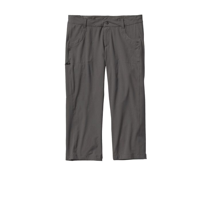 W'S HAPPY HIKE CAPRIS, Forge Grey (FGE)