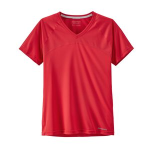 W's Short-Sleeved Windchaser Shirt, Maraschino (MRC)