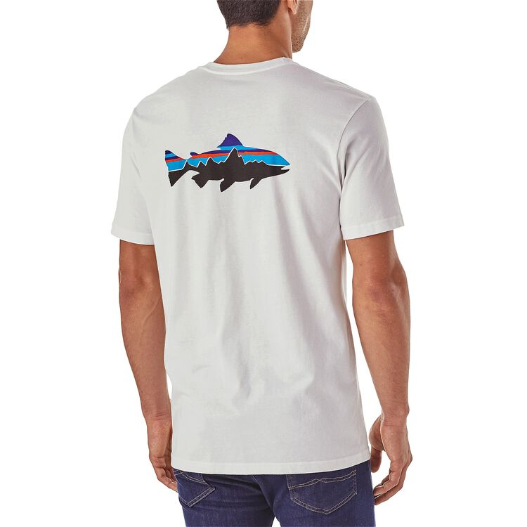 M's Fitz Roy Trout Organic Cotton T-Shirt,
